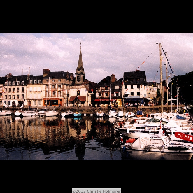 Honfleur<br/>Normandy<br/>France