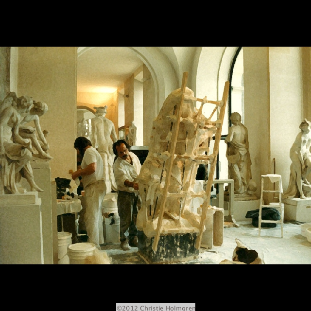 Statue<br/>Restoration<br/>The Louvre